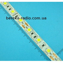 Стрічка біла SMD5050/60, 5500-6000К, 12V, 10W/m, IP20, Series S, PROLUM