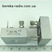 KBPC1506  (15A  600V)