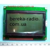 LCD RG12864A-GHY-V (графічн.інд, 128х64точки, драйвер KS0107/KS0108, п