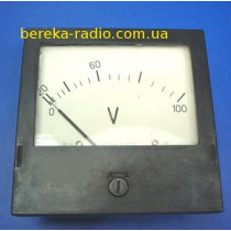 Головка вольтметра 0-100V 856708 (демонтаж)