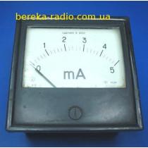 Головка амперметра М381 (0-5mА)