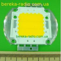 Св. COB 20W, 2800-3000K, 1000-2000 lm, 110-140*, 32-34V/0.7A, 20WSA30, SDL, прожекторний, білий тепл