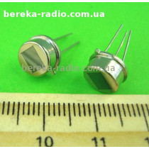 Датчик піроелектричний DS203B (U=3~15V, -30~+70°C, [V p-p]: ~=3500mV, 5x3.8mm, H=18mm)