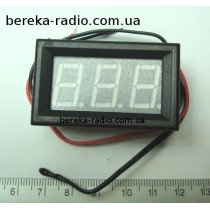 Термометр в корпусі 0.56`` синій, 3-х цифр. інд. (ZC123200)