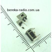 Тактова кнопка бокова 4pin 6x3x4.3mm, шток 0.8mm /China