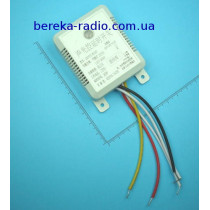 Фотореле день-ніч з датчиком звуку QDDZ-SK02 (220VAC)