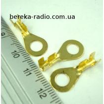 Клема очкова не ізольована М5, 2.5mm2 (ZS05o)