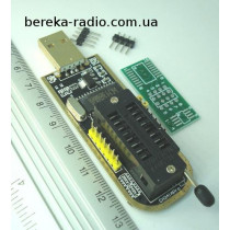 Програматор USB CH341A для EEPROM і FLASH 24XX, 25XX, Ucc=5V