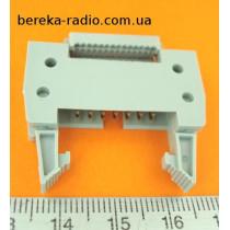 AWHP-14P (вилка на шлейф 14pin з защіпками, крок 2.54mm)