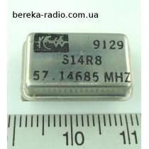 Кварцовий генератор S14R8R 57.14685 MHz