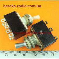 Тумблер ТП1-2 (KBM-26) (металевий клювик) (демонтаж)
