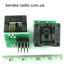 Адаптер-перехідник SO8-150 в DIP-8 (24C08, 24C16)