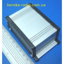 UNI-S-BOX-050-01BL Корпус алюмінієвий, 50x90x35mm, чорний