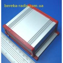 UNI-S-BOX-070-01RD Корпус алюмінієвий, 70x90x35mm, червоний