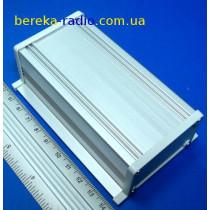 UNI-SS-BOX-100-01GD Корпус алюмінієвий, 100x62.5x32.9mm, сірий