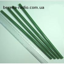 Клей пластиковий 11x270 mm зелений Prowest (1 шт)