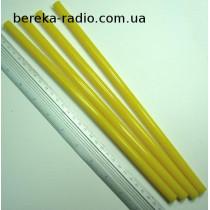 Клей пластиковий 11x270 mm жовтий Prowest (1 шт)