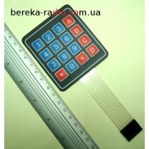 Клавіатура мембранна 4х4, 16 кнопок (модуль 22)