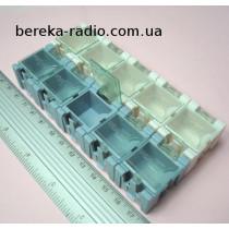 Касетниця міні 2х5 яейки для SMD елементів (63х125mm)