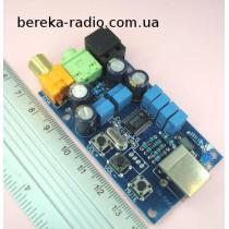Звукова карта PCM2704 USB DAC + оптичний вихід