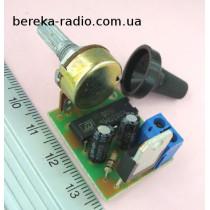 Регулятор потужності 12А 2.5 кВт на КР1182ПМ1 і BTA12  ручкою