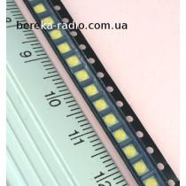 Світлодіод SMD2828, 0.8W, білий холодний, 6.0V/85mA, 33-43 lm, GM2CC3ZH2EEM, SHARP (для підсвітки LC