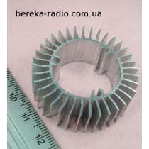Радіатор для світлодіода 5-9W, 41x15mm, отвір 26mm
