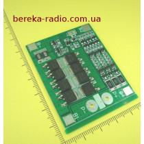 Контролер заряду і захисту PCM/BMS 3S 25A 12.6V для 3-х Li-ion ак. 18650 (gren PCB)