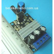 Регулятор обертів двигуна постійного струму PWM 0.05kW (Uin=6-28V, Imax=3A)