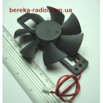 Вентилятор для індукційної пічки 12-18V, діаметр 80мм