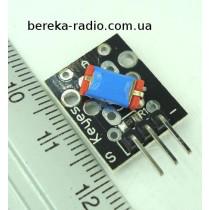 Датчик нахилу для Arduino KY-020, Ucc=3.3-5V
