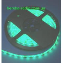 Зелений, 3528, 60шт/m, 12V, 4.8W/m, IP65, Standart, VST-2835120601-G, (за 1 m)