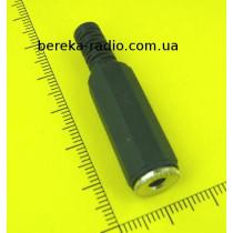 Гніздо 3.5mm стерео на кабель, пластиковий корпус