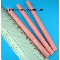 Клей пластиковий 7x100 mm розовий (1 шт)