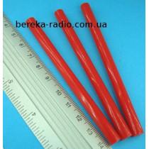 Клей пластиковий 7x100 mm червоний (1 шт)