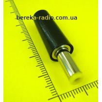 Штекер живлення DC 5.5x2.5x14mm (жовтий), бакелітовий корпус