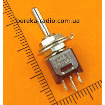 Тумблер SMTS-103-2A1 (ON-OFF-ON), 3pin, 1.5A/250VAC