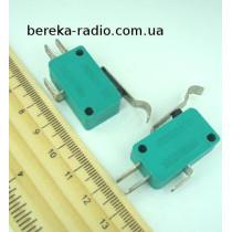 Мікровимикач MSW-04B з лапкою ON-(ON), 3 pin, 10A, 125/250VAC