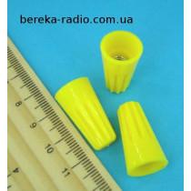 З`єднувач кабеля нейлоновий CHS-P74 10.8mm жовтий (40-0007)