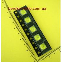 Світлодіод SMD 5050 ультрафіолетовий, 1W, 6.8-7.2V/100-150mA, тип В, 365-395nm