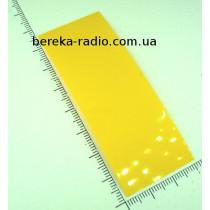 Термотрубка для ак. 18650 18.5mm жовта U24-07