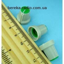 AG1 ручка сіра з зеленою вставкою