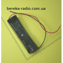 Корпус для акумулятора 1 х 18650 з проводами