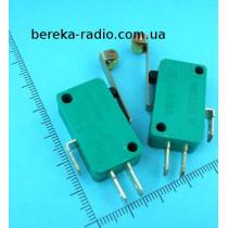 Мікровимикач MSW-03B з лапкою ON-(ON), 3 pin, 5A, 125/250VAC
