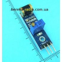 Датчик вібрації для Arduino 801S, Ucc=3.3-5V, TTL