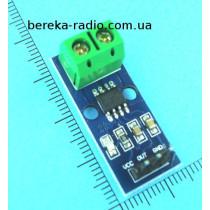 Датчик струму 5А для Arduino на ACS712, Ucc=5V, аналоговий вихід 185mV/A, на ефекті Холла