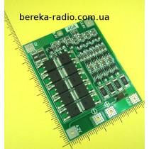 Контролер заряду і захисту PCM/BCM 4S 40A 16.8V для 4-х Li-ion акумуляторів 18650 з балансуван