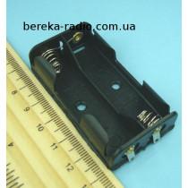 Корпус для батарей 2 х AA з клемами (GNI 0059)