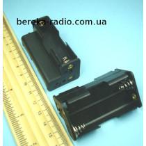 Корпус для батарей 3 х AA кутовий з клемами (GNI 0055)