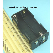 Корпус для батарей 4 х AA квадратний з клемами (GNI 0050)